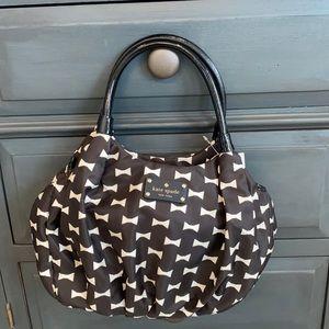 Kate Spade black & white Small Karen NWT bag